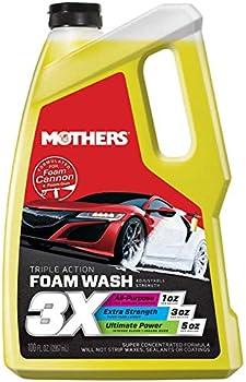 Mothers 05610 3X Triple Action Foam Wash 100 fl oz.