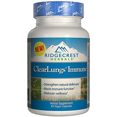 Ridgecrest Herbals ClearLungs Immun…