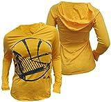 adidas Golden State Warriors Womens Gold Oversized...