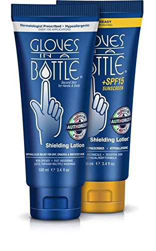 Gloves In A Bottle Shielding Lotion and Sunscreen SPF 15, 3.4 ounces (Set of 2)