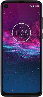 Moto One Action - Unlocked Smartphone - 128GB - (US Warranty) - Verizon, AT&T, T-Mobile, Sprint, Boost, Cricket, Metro (Pearl White)