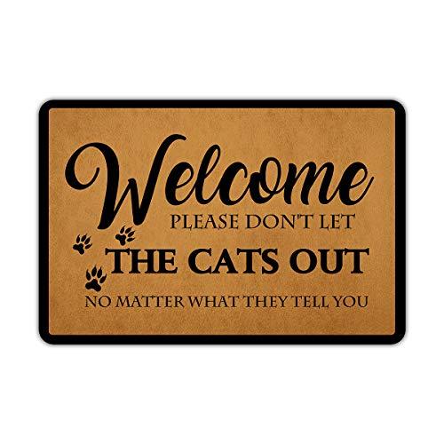 Front Door Mat Welcome Mat...