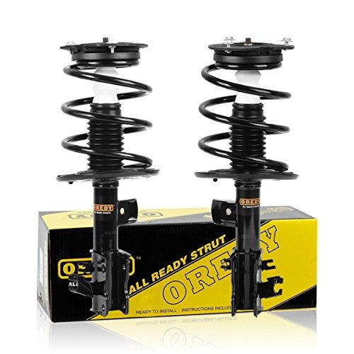 OREDY Struts 2PCS Front Shocks Struts 172392 172393 11611 11612 ST8574L ST8574R Complete Struts Assembly Kit Coil Spring Suspension Struts Kit Compatible with Altima 2007 2008 2009 2010 2011 2012