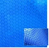 Blue Wave NS098 12-mil Solar Blanket for Hot Tubs, 7-ft x 8-ft, Royal Blue