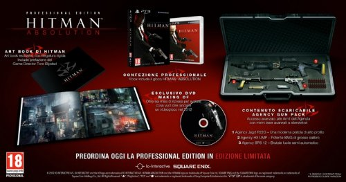 HITMAN: ABSOLUTION - PROFESSIONAL EDITION PS3