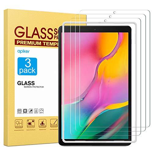 vetro tablet 10.1 apiker[3 Pezzi Compatibile con Galaxy Tab A 10.1 2019 T515/T510 Vetro Temperato