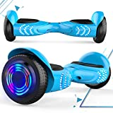 MARKBOARD Gyropode Bluetooth 6.5 Pouces, gyropode Overboard Smart Scooter Roues Lumineuses à LED,...