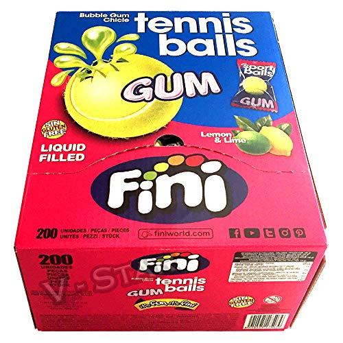 FINI - Pelotas de tenis con relleno líquido, diseño retro