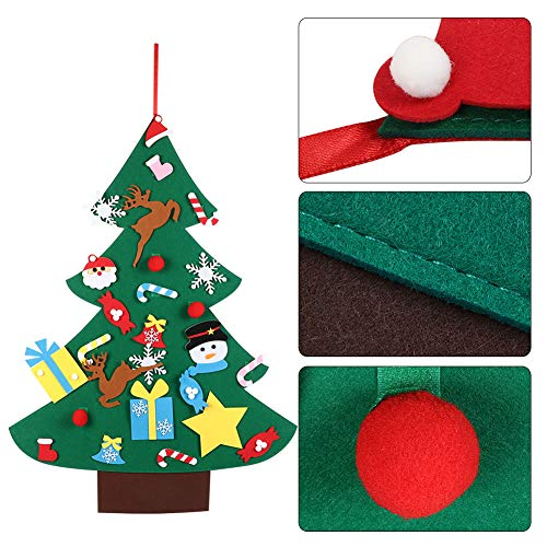 Christmas Decor Table Mini Christmas Tree Decoration Cute Lovely Xmas Props Ornament Gift for Home Party