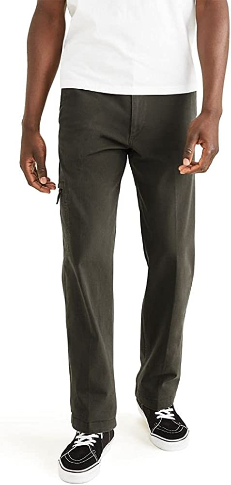 Dockers Max 86% OFF Men's Straight Fit Smart Pants Max 66% OFF Flex Cargo 360 Go-To