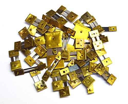 Harts 10 Einheiten Messing Blocked gemischte Uhren Pendelfedern