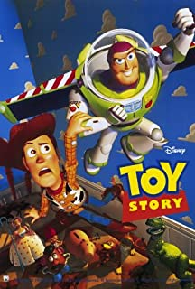 toy story movie poster 27x40
