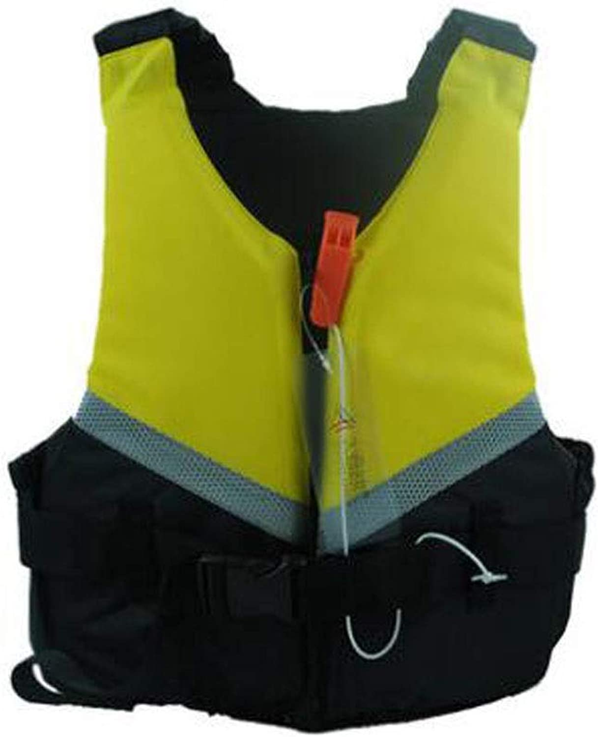 Qiyuezhuangshi Adult Inflatable Swimming Vest Life Jacket for Snorkeling, Outdoor Play, Surfing, Size  L, M, S, XL, XXL, color  blueee, Pink, Yellow Environmental Predection