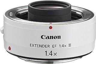 Canon EF 1.4X III - Adaptador para Objetivos de cámaras Canon EF 70-200mm f/2.8L EF 70-200mm f/2.8L IS EF 70-200mm f/4L EF 100-400mm f/4.5-5.6L Color Blanco