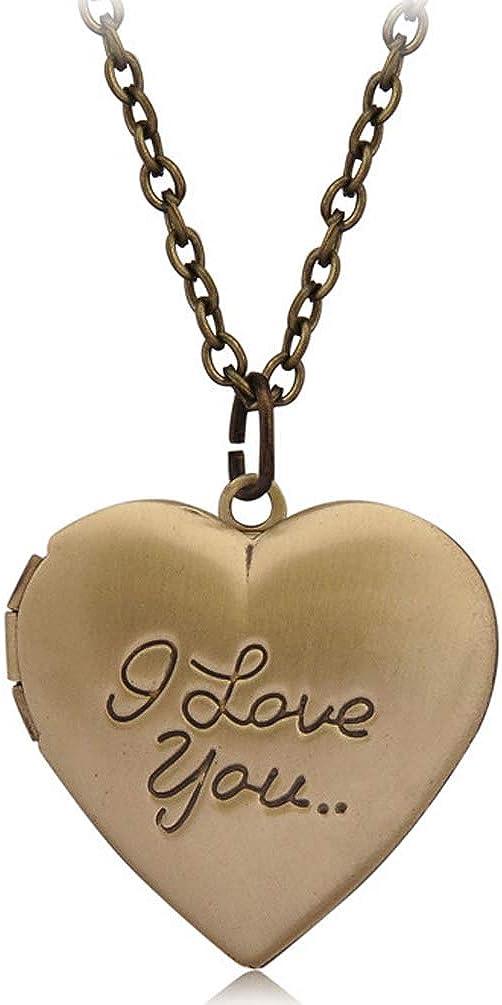 Computer Heart Locket Necklace 18+2
