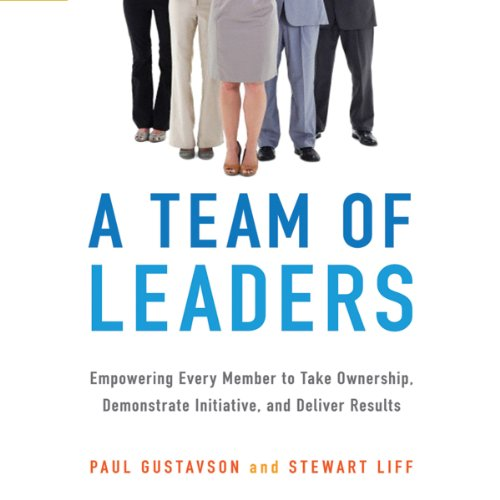 A Team of Leaders audiobook cover art