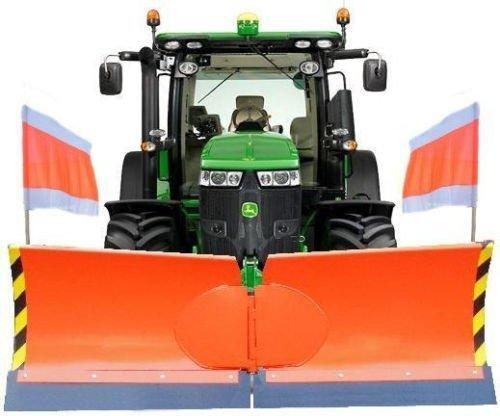Universal Vario Schneeschild V 175 cm hydraulisch Schneeschieber Winterdienst