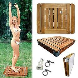 bodendusche das outdoor duschvergn gen f r die familie. Black Bedroom Furniture Sets. Home Design Ideas