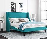 Allewie Queen Size Modern Platform Bed Frame with...