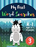My First Word Searches: 50 Large Print Word Search Puzzles to Keep Your Child Entertained for Hours | K-1 | Ages 5-7 Donkey Design (Vol.3) (Kids word search books)