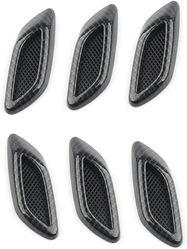 KGASYUI Car Ranking TOP4 Hood Vent Scoop 2PCS Fender I 2021 model Flow Air Side
