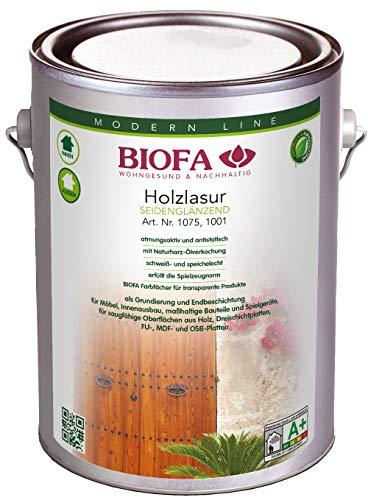 Lasure pour bois Biofa–Palissandre–2,50L
