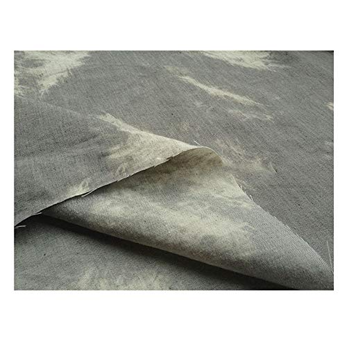 Denim stof Upscale Comfortabel Ademend Katoen Zomer Wassen Maak Shirt Korte broeken Jurk Rugzak Zand release Stretch 145 Cm Breed(145cm * 100cm)