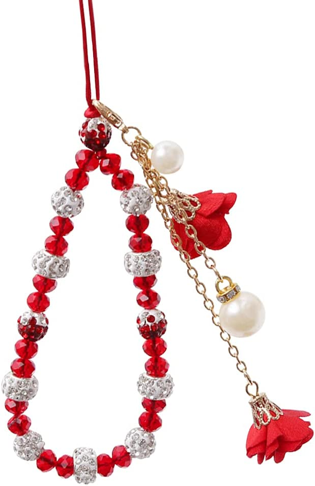 Crystal Ranking TOP15 Mobile Phone Beauty products Chain Beaded Lanyard Str Wrist Charm