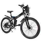 Speedrid Mountain Bike Pieghevole per Bici elettrica, Pneumatici 26/20 Ebike...
