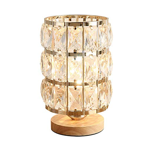Leselamp, bedlamp, tafellamp, bureaulamp, tafellamp, kristal, tafellamp, slaapkamer, bedlampje, creatieve romantische bruiloft, Nordic nachtlampje, decoratie, eenvoudig, modern landelijk
