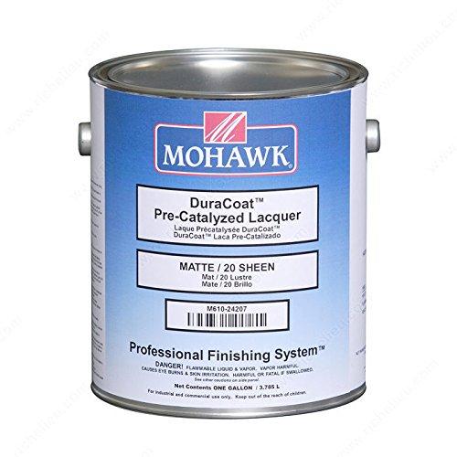 DuraCoat Pre-Catalyzed Lacquer - M61024407 - Sheen Satin, VOC 550 VOC, Size 1 gal.