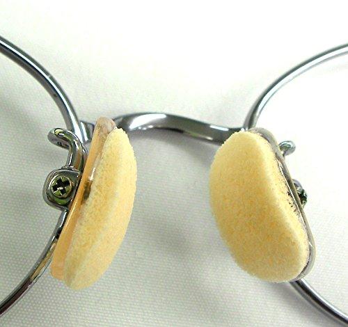 『鼻パッド の 跡がつきにくい やさしいシール メガネ の鼻に 跡なシール S 2組入り』の4枚目の画像