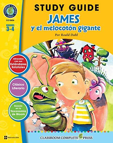 Guía de Estudio - James y el melocotón gigante (James and the Giant Peach Novel Study - Spanish Version)