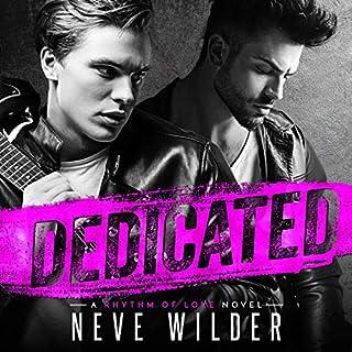 Dedicated: A Rhythm of Love Novel audiobook cover art