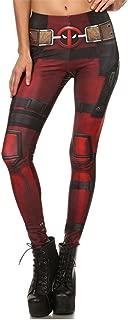Creepinup Super Hero Women Leggings Fitness Deadpool Leggings 3D Printed Pants