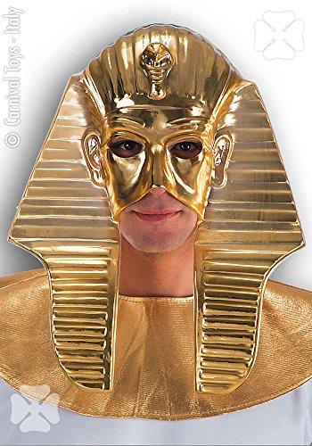 CARNIVAL TOYS S.R.L. Halbmaske Pharao Gold für Herren