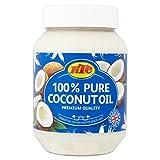 KTC 100% puro aceite de coco 500ml (paquete de 500 ml)
