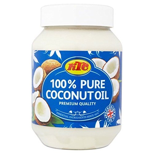 KTC Aceite de coco 100% puro, ideal para el pelo,