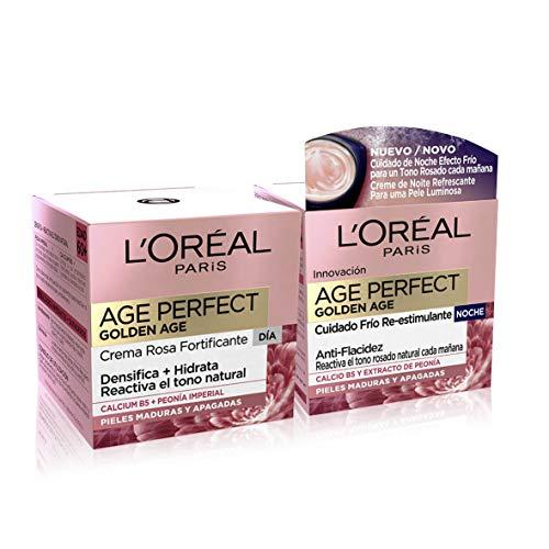 L'Oréal Paris Dermo Expertise - Age Perfect Golden Age Rutina, crema rosa anti arrugas...