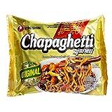 Ramen Chapaghetti Nongshim [Sabor Alubias Negras - Chajang] | Fideos Instantáneos Coreanos | 3 Unidades de 140g