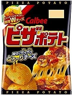 Calbee Pizza Potato 63g×12pc