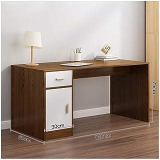 Bureau D'étude Table De Bureau D'ordinateur Avec Armoire À Tiroirs Et Plateau De Clavier Rehaussant L'armoire De L'unité P...