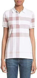 burberry women's polo shirt