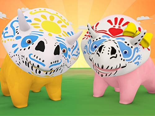 【Halloween】Dia de los muertos - Learn colours with Face paint! / Learn...