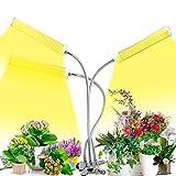MOCOLI Lamparas de Cultivo, Foco LED Cultivo 150W 315 Leds with 3 Cabezales y 5 Niveles de atenuación, LED Cultivo Interior para Plantas de Interior, plántulas en Flor y suculentas