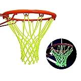 Red Luminosa de Baloncesto, Red de Baloncesto de Nailon de Repuesto, Red de Baloncesto para Exterior para Adultos