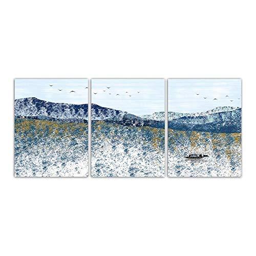 Llxhg Para El Regalo De La Venta Caliente Carteles De Lienzo Cuadro Abstracto Paisaje Abstracto Pintura Arte De La Pared Imprime Nordic Decoración Del Hogar Venta Directa 3Piezas No Frame30 * 40Cm