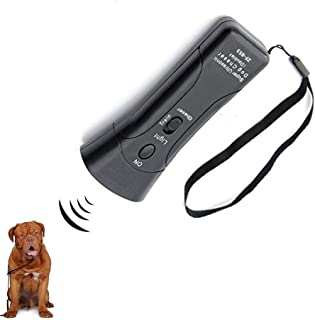 Cheerpet LED Ultrasonic Dog Repeller & Trainer Device 3 in 1 Anti Barking Stop Bark Handheld Dog Training Device