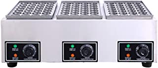 Hanchen Commercial Takoyaki Machine Small Octopus Maker Model H Fish Pellet Grill Machine (Three-plate) 328 Balls Continuo...