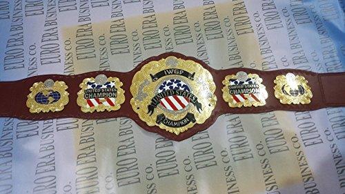 Wrestling Replica Belts New Replica IWGP United States Champion Belt, Adult Size & Metal Plates